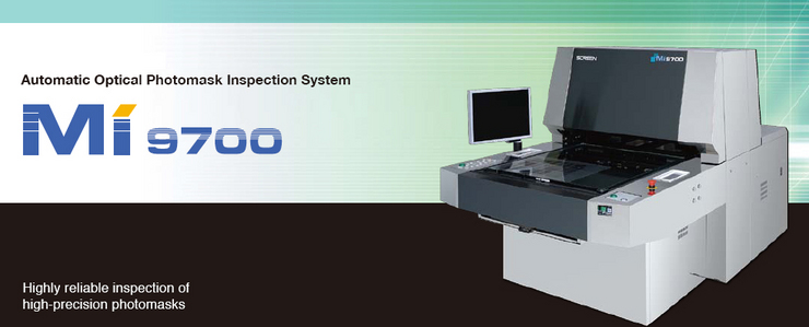 Automatic Optical Photomask Inspection System MI-9700